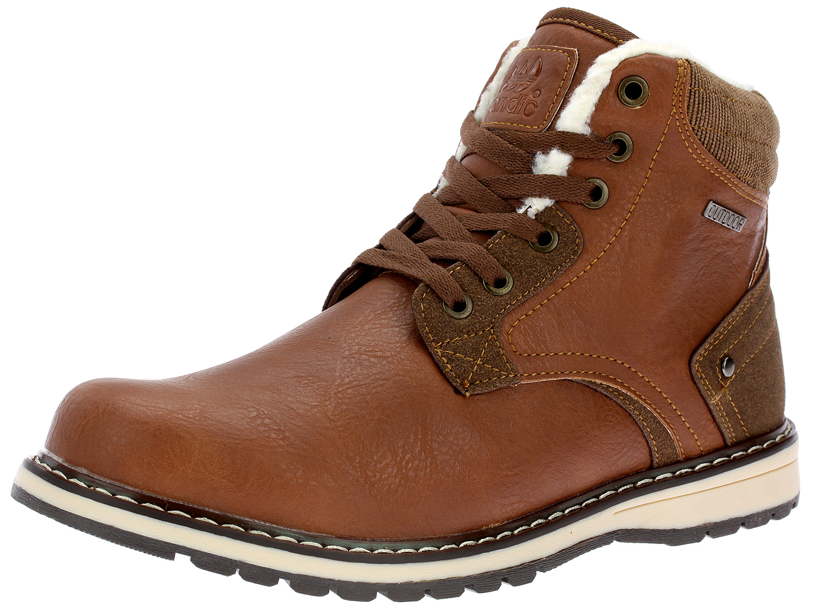 Herren Stiefel Boots Stiefeletten Gefüttert Reißverschluss Winterschuhe SD216