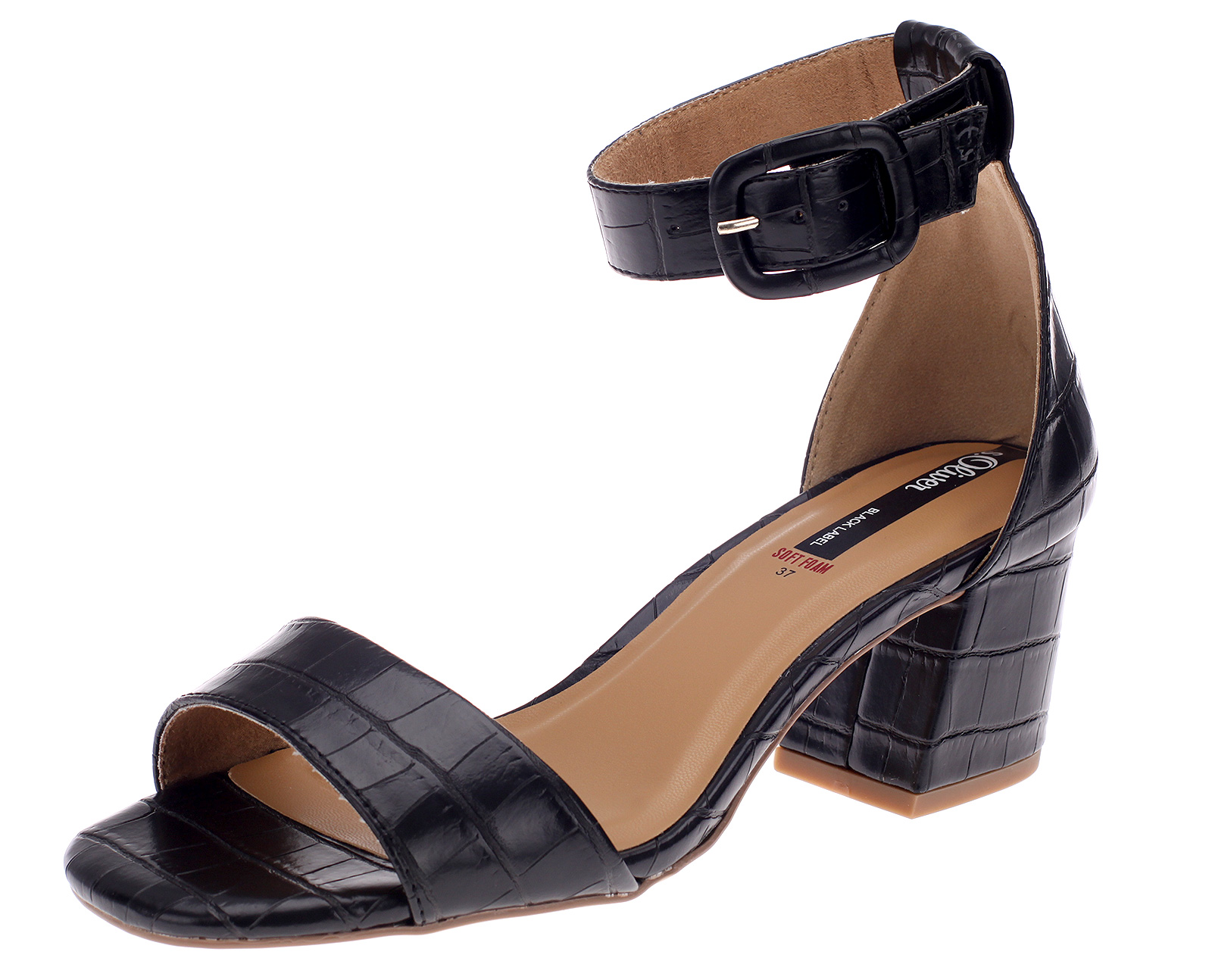 s.Oliver Damen Schuhe Sandaletten Sandale Sommerschuhe Schwarz 28338