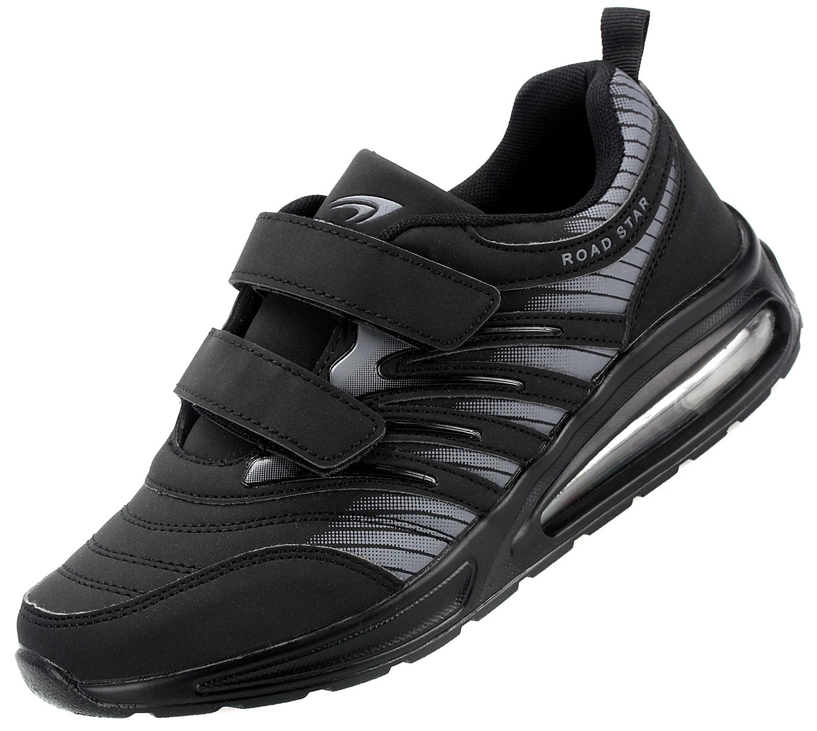 Damen Herren Sneaker Sportschuhe Freizeitschuhe Laufschuhe Turnschuhe Klettverschluss