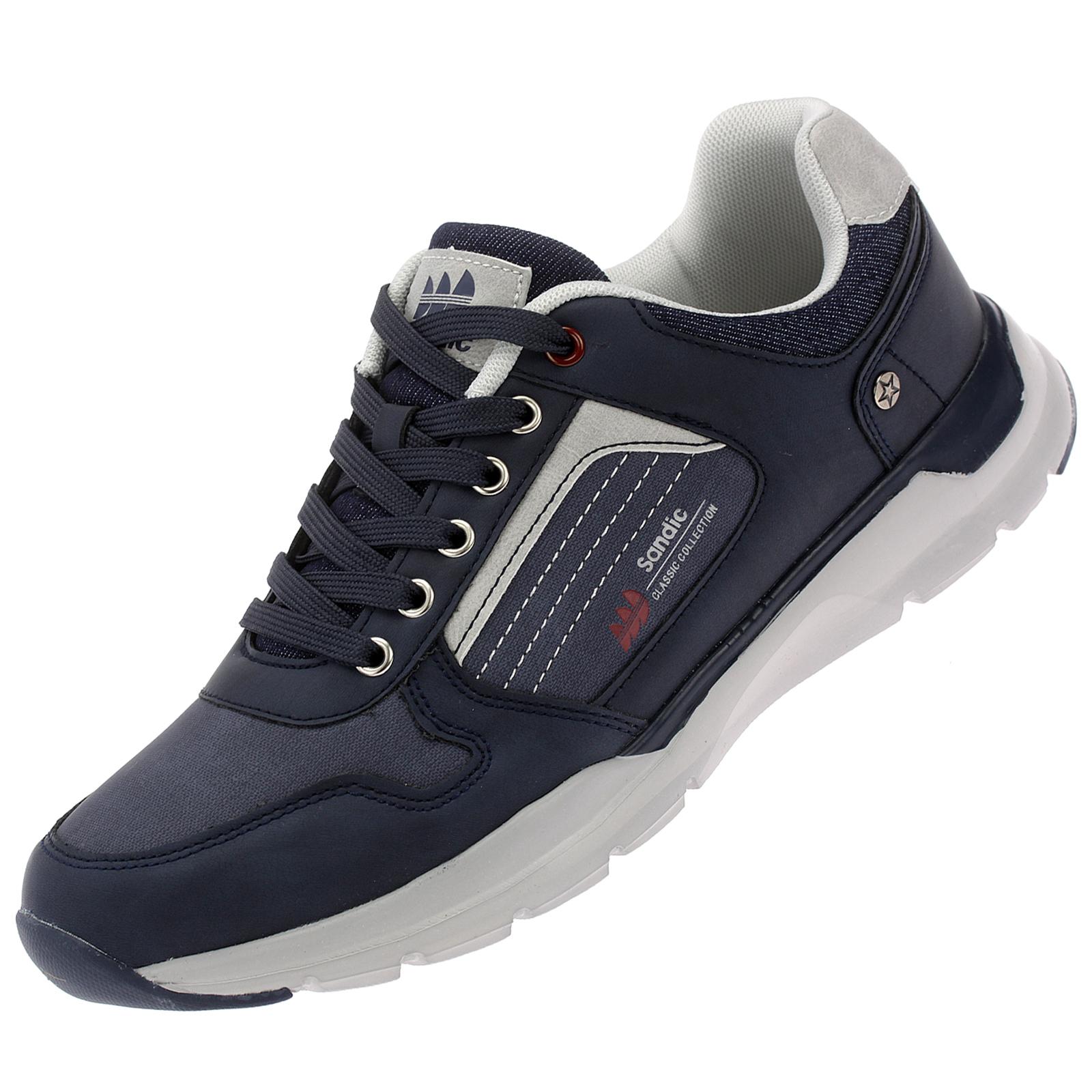 Herren Sneaker Sportschuhe Freizeit Schnürer Herrenschuhe 20B006