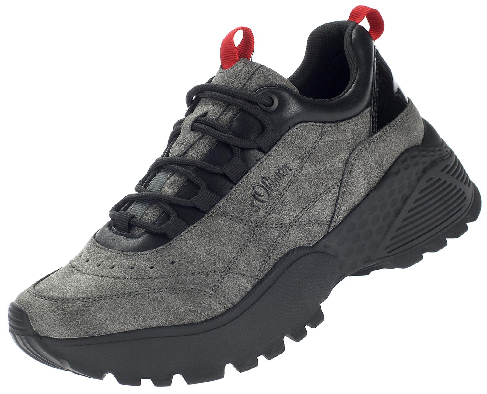 s.Oliver Damen Sneaker in Grau 5-23602-35