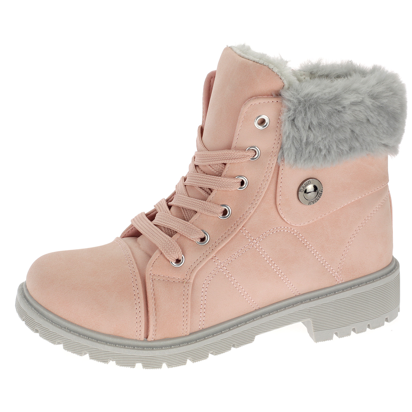 Mädchen Boots Stiefeletten Winterschuhe Stiefel Gefütterte Kinderschuhe 3015