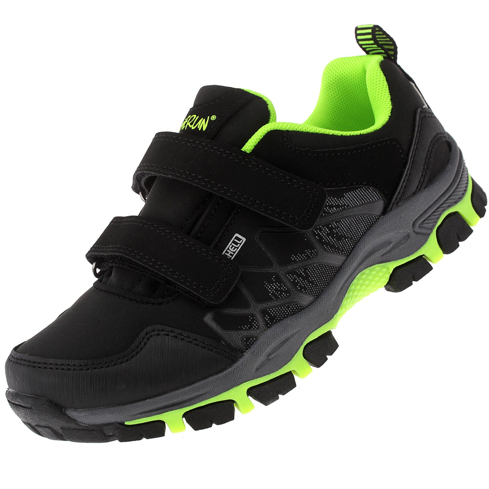 Kinderschuhe Sneaker Outdoor Trekkingschuhe Klettverschluss Sportschuhe Freizeitschuhe 8041