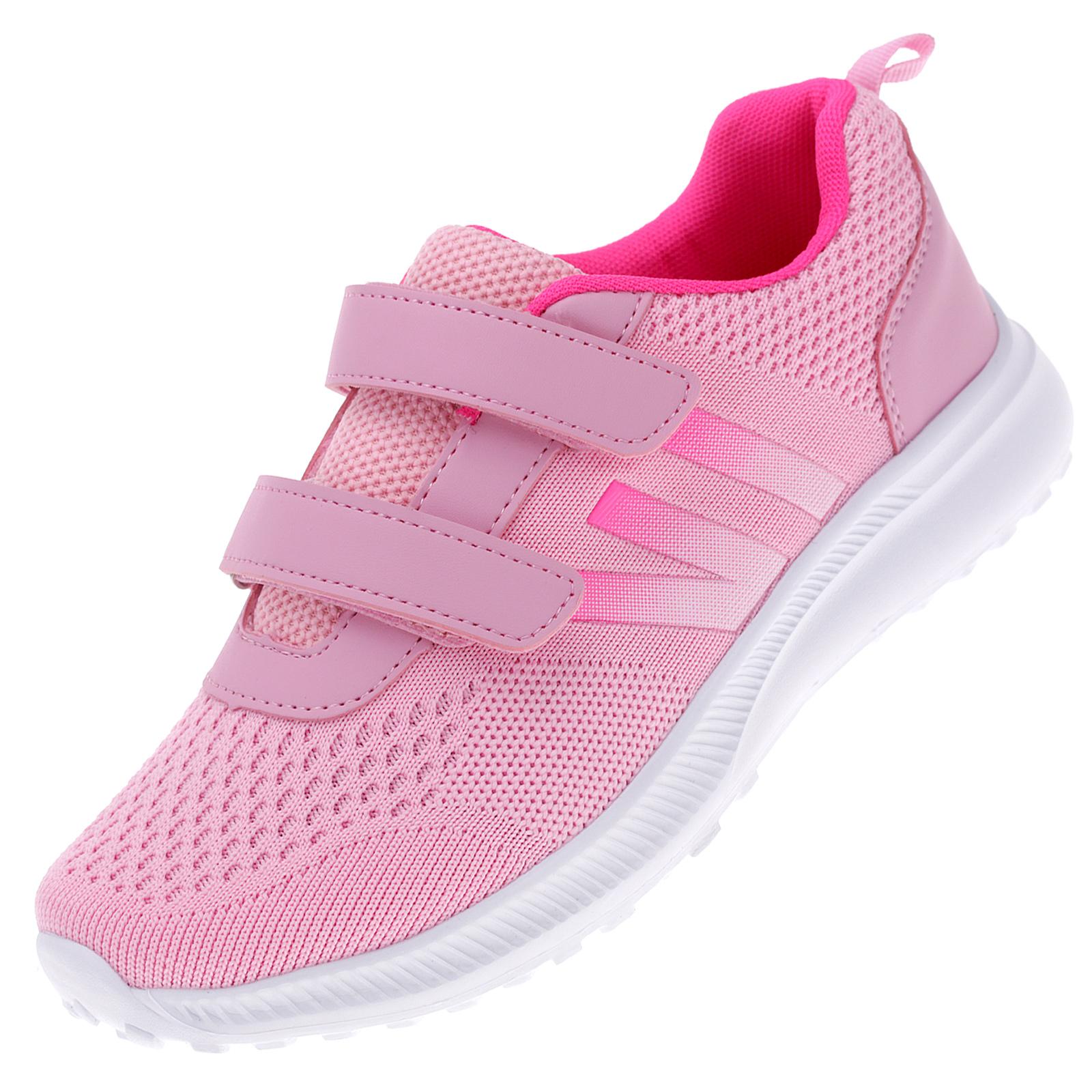 Damen Sportschuhe Sneaker Turnschuhe Freizeitschuhe 37-42 Klettverschluss W-CH028